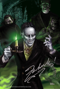 #C- 1 (Signature series) John Zacherley Monster Masterpieces ™